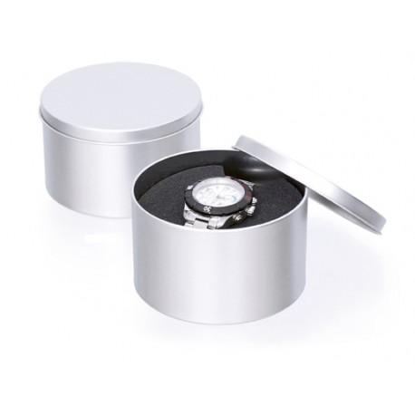 Elegante metalen box - cylinder