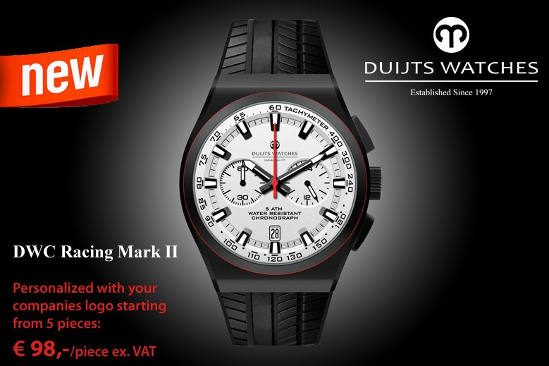 The New DWC Racing Mark II Chronograph