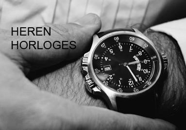Heren horloges gepersonaliseerd met uw bedrijfslogo op de wijzerplaat