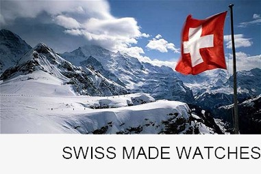 Swiss Made Watches customized with your company's logo