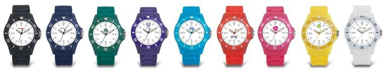 Trendy horloges gepersonaliseerd met uw bedrijfslogo